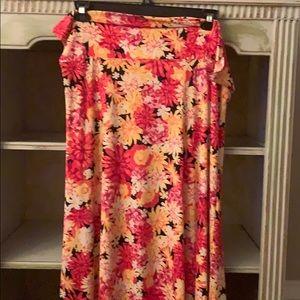 Lularoe Maxi Skirt-3X